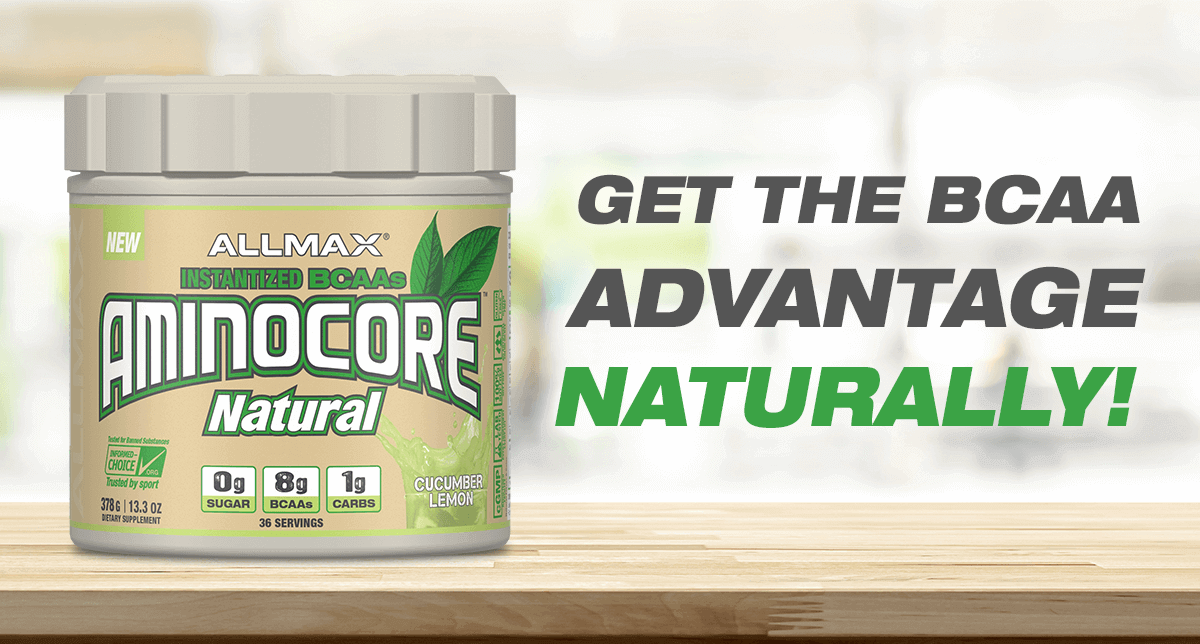 AMINOCORE Natural - Naturally Sweetened Instantized BCAAs